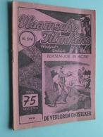 VLAAMSCHE FILMKENS ( Nr. 594 ) 9-8-'42 : BLIKSEM-JOE In ACTIE - De Verloren Ontsteker ! - Juniors