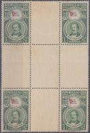 1951-312 CUBA REPUBLICA 1951, 1c, CENTER OF SHEET, Ed.445. CENT BANDERA, FLAG, GOMA MANCHADA. - Cuba
