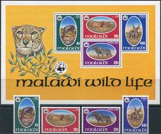 Malawi 1978. Michel #297/300+Bl.#52 MNH/Luxe. WWF. Fauna. (B28) - Malawi (1964-...)
