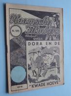 "VLAAMSCHE FILMKENS ( Nr. 595 ) 16-8-'42 : DORA En De "" KWADE HOEVE "" ! - Books, Magazines, Comics"