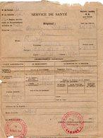 VP12.762 - MILITARIA - Guerre 39/45 - Lettre En Franchise Militaire - Hopital De CANNES - Documents