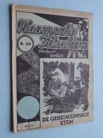 VLAAMSCHE FILMKENS ( Nr. 610 ) 29-11-'42 : De Geheimzinnige Stem ! - Books, Magazines, Comics