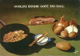 Avalou Douar Gand Kig-sall / Pommes De Terre Au Lard - Recettes (cuisine)