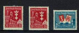 Danzig Michel Nr. 274 X+y - 275 Postfrisch Mit Falz - Danzig