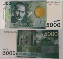 Kyrgyzstan - 5000 Som 2009 UNC Lemberg-Zp - Kyrgyzstan
