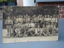 Cpa  Soldats En Groupe Du 144 ° - Guerra 1914-18
