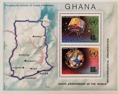 Ghana 1973 Intl.Meteorological Organization Cent. S/S - Ghana (1957-...)
