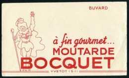 Buvard MOUTARDE - BOCQUET - YVETOT - Mostard