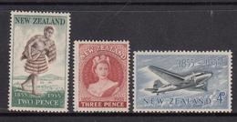 New Zealand MNH Michel Nr 348/50 From 1955 / Catw 1.10 EUR - Nieuw-Zeeland