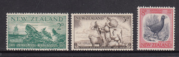 New Zealand MNH Michel Nr 360/62 From 1956 / Catw 1.90 EUR - Nieuw-Zeeland