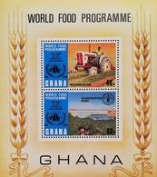 Ghana 1973 World Food Program, 10th. Anniversary  S/S - Ghana (1957-...)
