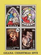 Ghana 1973 Christmas S/S - Ghana (1957-...)