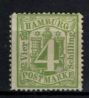 Hamburg Michel Nr.: 16 Ohne Gummi - Hamburg