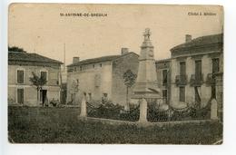Saint Antoine De Breuilh Monument Aux Morts - Other Municipalities