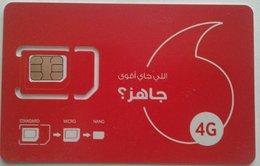 MINT GSM SIM Card  Vodafone 4G New Design (Egypte) (Egitto) (Ägypten) (Egipto) (Egypten) Africa - Egypt