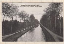 8AK2176 PIERREFITTE SUR SAULDRE LE CANAL DE LA SAULDRE L'ECLUSE DES BAS JARRIERS  2 SCANS - Autres Communes