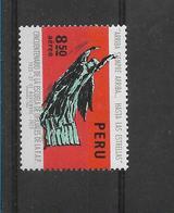 Peru 1973, AIR FORCE SCHOOL, FAP, 50TH ANNVERSARY, STATUE, 1 VALUE COMPLETE MINT NEVER HINGED - Peru