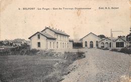 Belfort Gare Tramways Tramway Forges - Belfort - Ville