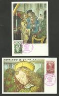 Lot 2 Cartes CROIX ROUGE - REUNION CFA N° 391 & 392 / SAINT PIERRE 1970 - 1970-79