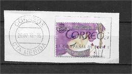 LOTE 1728  ///  ESPAÑA 2018 CON MATASELLO COMPLETO - 2011-... Used