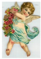 CHROMO  - DECOUPI -  ANGE - ANGELOT - Angels