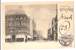 SOUTH AFRICA - JOHANNESBURG - FOX. STR. - STAMP - MAILED TO NOCERA INFERIORE - EDIT BARNETT 1902 (2791) - South Africa