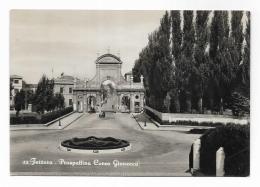 FERRARA - PROSPETTIVA CORSO GIOVECCA - VIAGGIATA FG - Ferrara