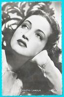 Carte Photo Dorothy Lamour Actrice Et Chanteuse Américaine - Acteurs