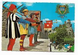 REPUBBLICA DI S.MARINO - PANORAMA  E BALESTRIERI  VIAGGIATA FG - San Marino