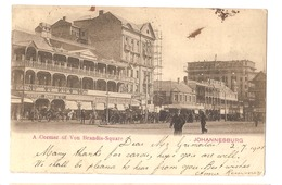 SOUTH AFRICA - JOHANNESBURG - A CORNER OF VON BRANDIS-SQUARE - STAMP - MAILED TO NOCERA INFERIORE 1905 (2794) - South Africa