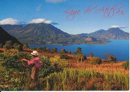 Guatemala Postcard Sent To Switzerland 11-11-2010 (Lago De Atitlan) - Guatemala