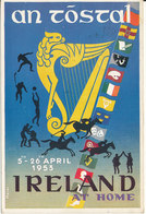 Ireland Postcard (An Tostal Gaelic Word Meaning Muster) Sent To USA 9-2-1953 - Irland