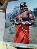 Kenya-Pretty African (Bukuria) RAGAZZA GIRL  SENO NUDO  VB1968 4 TIMBRE STAMP SELO  FRANCOBOLLI 5-10-20-40c GU3041 - Kenia