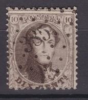 N° 14 A : LP 385 WAERSCHOOT DISTRIBUTION - 1863-1864 Medallones (13/16)