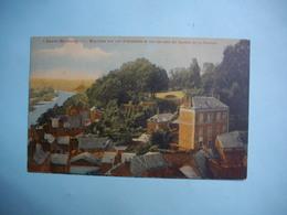 LAVAL  -  53  -  La Mayenne Vue Sur AVESNIERES Et Sur Un Coin Du Jardin De La Perrine  -  MAYENNE - Laval