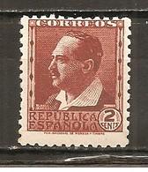 España/Spain-(MNH/**) - Edifil  662 - Yvert  498 - 1931-50 Nuevos & Fijasellos