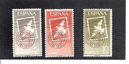 España/Spain-(MNH/**) - Edifil  1348-50 - Yvert  1021-23 - 1961-70 Unused Stamps