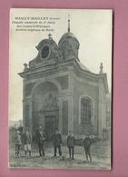 CPA -  Mailly Maillet -(Somme) - Chapelle Sépulcrale Du Xe Siècle Des Comtes D'Hésecques Derniers Seigneurs De Mailly - Otros Municipios