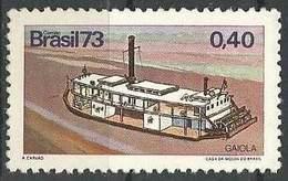 LSJP BRAZIL BOAT GAIOLA 1973 - Brazil