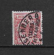LOTE 1729   ///    ALEMANIA IMPERIO      YVERT Nº: 47  CON FECHADOR  DE  ETSENBERG - Alemania