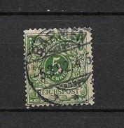 LOTE 1729   ///    ALEMANIA IMPERIO      YVERT Nº: 46  CON FECHADOR  DE  BREMEN? - Alemania