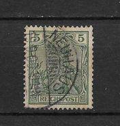 LOTE 1729 ///  ALEMANIA IMPERIO  1900     YVERT Nº: 53  CON FECHADOR  DE  NEUHAUS - Alemania