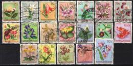 CONGO BELGA - 1952 - FIORI - FLOWERS - USATI - 1947-60: Usati