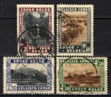 CONGO BELGA - 1937 - IMMAGINI DEL CONGO BELGA - USATI - Congo Belga
