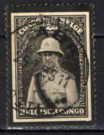 CONGO BELGA - 1934 - LUTTO PER LA MORTE DI RE ALBERTO I DEL BELGIO - USATO - Congo Belga