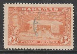 Bahamas 1948 The 300th Anniversary Of Settlement Of Island Of Eleuthera ½p Orange SW 137 O Used - Bahamas (1973-...)