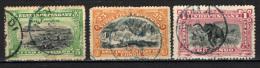 CONGO BELGA - 1894 - PORTO MATADI, CASCATE INKISSI, CACCIA ALL'ELEFANTE - USATI - Congo Belga