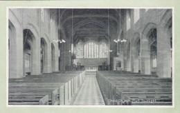 PORT SUNLIGHT -CHRISTCHURCH INTERIOR - England