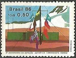 LSJP BRAZIL Antartica Station Commander Ferraz 1986 - Neufs