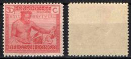 CONGO BELGA - 1924 - INDIGENO CHE SCOLPISCE IL LEGNO - MNH - Congo Belga